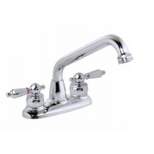 Symmons S 249 LAM Symmetrix Polished Chrome  Two Handle Centerset Bathroom Faucets