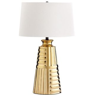 Aaliyah 31.25 H Table Lamp with Oval Shade by Cyan Design