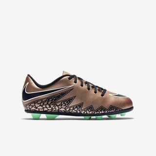 Nike Jr. Hypervenom Phade FG R Botas de fútbol para terreno firme