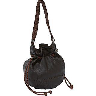 The Sak Indio Leather Drawstring Bag