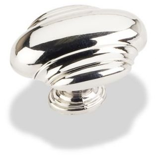 Jeffrey Alexander 613L NI Polished Nickel Cabinet Knob