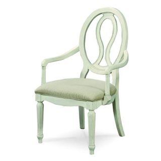 Universal Furniture 987637 RTA Summer Hill Pierced Back Arm Chair   Set of 2