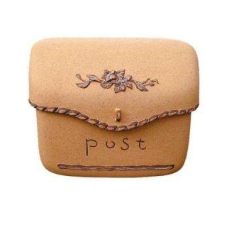 Dea's Garden Mailbox Collection Wall Mount Composite Mailbox in Sand DSA 0109 SD