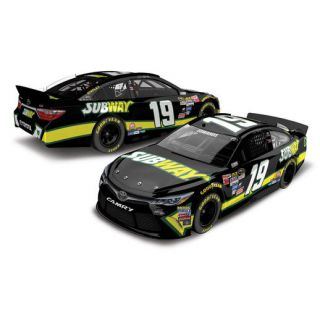 Action Racing Carl Edwards 2015 #19 Subway 1:24 Scale Platinum Die Cast Toyota Camry