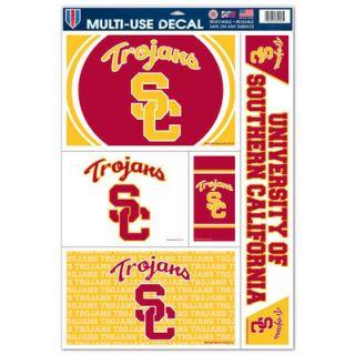 USC Trojans WinCraft 11 x 17 Sheet Reusable Window Cling