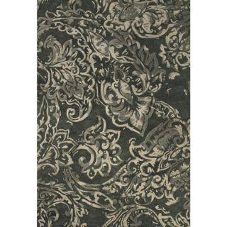 Grand Bazaar Hand Woven 100 percent Wool Pile Sonora Rug in Charcoal 8
