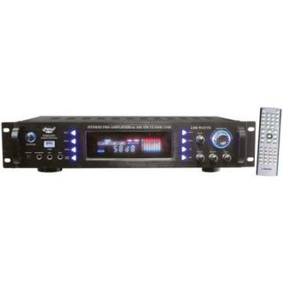 1500 Watts Hybrid Home Stereo Receiver Amplifier w/ AM/FM Tuner/ USB
