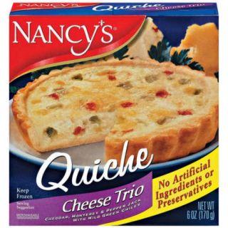 Nancy's: Cheese Trio Quiche, 6 Oz