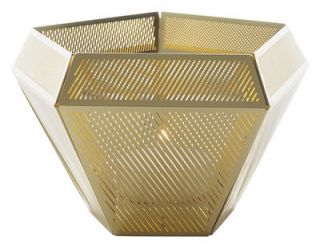 Cell Candle holder Brass by Tom Dixon