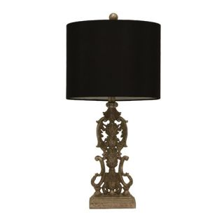 Resin Iron Gate 27.5 Table Lamp with Drum Shade by J. Hunt Home