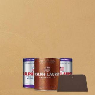 Ralph Lauren 1 qt. Creme Nova Pewter Polished Patina Interior Specialty Paint Kit PP115 04K