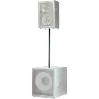 Electro Voice PCL35 Steel Subwoofer Pole with Threaded End, Black F.01U.144.588