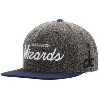Washington Wizards Mitchell & Ness Current Logo Static Snapback Adjustable Hat   Gray/Blue