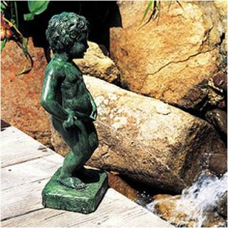 Belgian Boy Fountain by Brass Baron