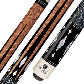 Lucasi Custom LZ2008 Pool Cue Stick with Zero Flexpoint Low Deflection Shaft & Uni loc Quick Release Joint