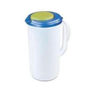 Sterilite 04820006 2 Quart Flip Top Pour Clear Pitcher   Kitchen Dining Bar