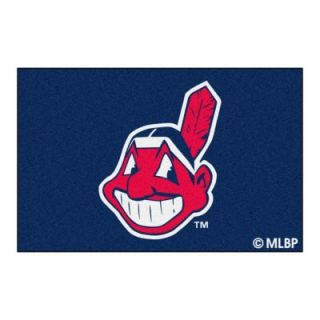 FANMATS Cleveland Indians 1 ft. 7 in. x 2 ft. 6 in. Accent Rug 6374