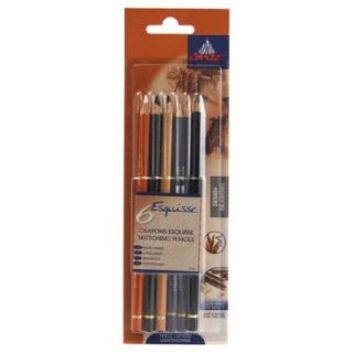 Conte Graphic Drawing Pencils (Set of 6)