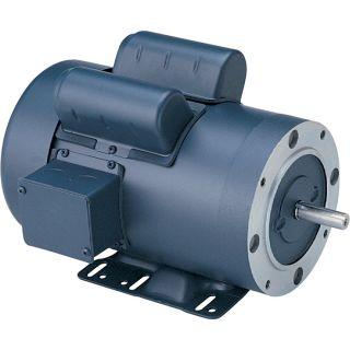 Leeson Pressure Washer Duty Electric Motor —3 HP, 3600 RPM, 115/208–230 Volts, Single Phase, Model# P6K34FK17E  Pressure Washer Motors