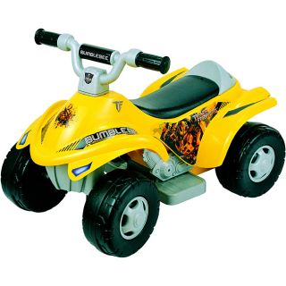 New Star Toddlers Transformers Bumble Bee 4x4 ATV Ride On   14252906