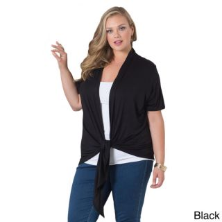 Sealed With a Kiss Womens Plus Grace Solid Cardigan   16317914