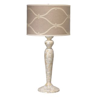 Harlow 33.35 H Table Lamp with Drum Shade by Jamie Young Company