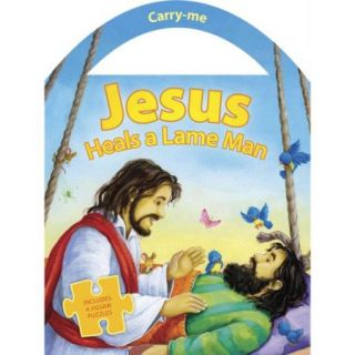 Jesus Heals a Lame Man: Includes 4 Jigsaw Puzzles
