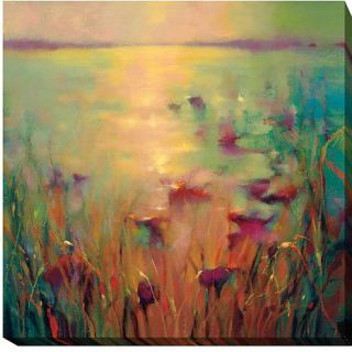 """Donna Young """"Morning"""" Gallery Wrapped Giclee Canvas Wall Art   Large   8194135"""