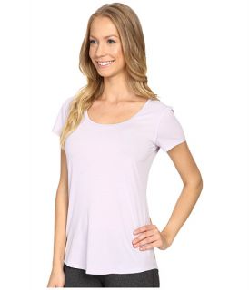 Lucy S/S Workout Tee Sheer Lilac