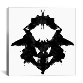 iCanvas Modern Dancing Butterfly Inkblots Graphic Art on Canvas