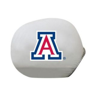 Collegiate Mirror Cover Arizona (Standard) (Ultra durable 4 way stretch material, Weather resistant)