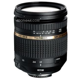 Tamron SP AF 17 50mm f/2.8 XR DI II VC Zoom Lens for Nikon USA AFB005NII700