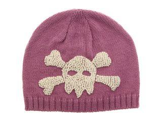 San Diego Hat Company Kids Skull Beanie Pink