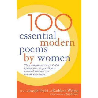 100 Essential Modern Poems by Women (Paperback)