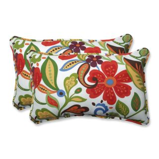 Pillow Perfect Outdoor/ Indoor Garden Gate Navy Over sized Rectangular