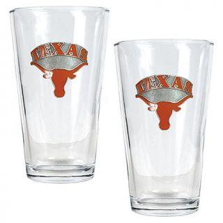 Texas Longhorns 2pc Pint Ale Glass Set   7570237