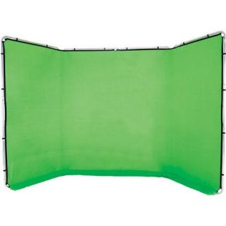 Lastolite Panoramic 13 Background, Chromakey Green   Fabric and Frame LL LB7622