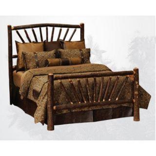 Fireside Lodge Hickory Slat Bed