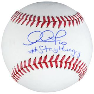 Adam Jones Baltimore Orioles  Authentic Autographed Baseball with #Stay Hungry Inscription