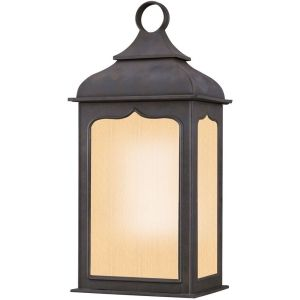 Troy Lighting TRY BF2011CI Henry Street Colonial Iron  Outdoor Sconce Lighting