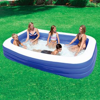 "My Sunshine 120"" x 72"" x 22"" Deluxe Family Inflatable Swimming Pool"