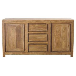 Stockholm Brown Wooden Buffet with Storage Drawers   16479418