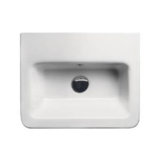 City Modern Rectangular Wall Hung or Self Rimming Bathroom Sink by GSI