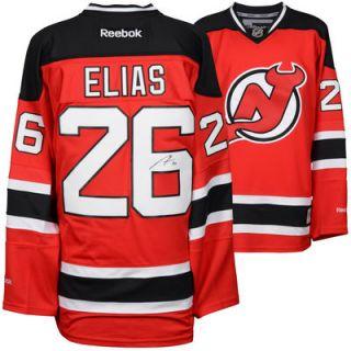 Patrik Elias New Jersey Devils  Authentic Autographed Red Reebok Premier Jersey