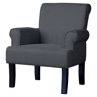 Classics Collection Wing Chair   Gray   Baxton Studio