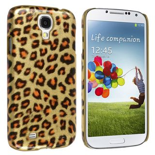 Basacc Leopard Rear Snap On Case For Samsung© Galaxy S IV/ S4