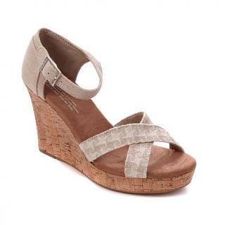 TOMS Strappy Wedge Sandal   8021118