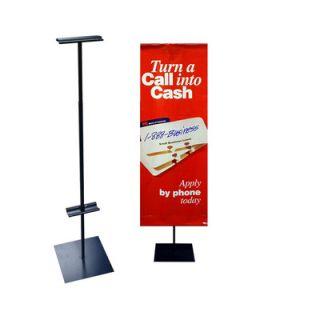Pinquist Tool & Die 48   90 Vertical Adjustable Banner Stand