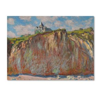 Claude Monet The Church at Varengeville, Grey Weather Hand Painted