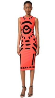 McQ   Alexander McQueen Cutout Body Con Dress